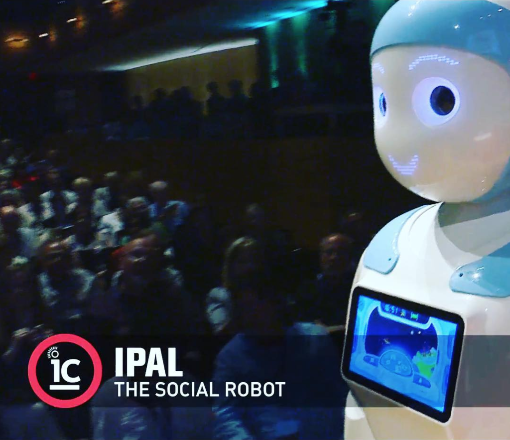 Blue IPal in Ideacity 2018