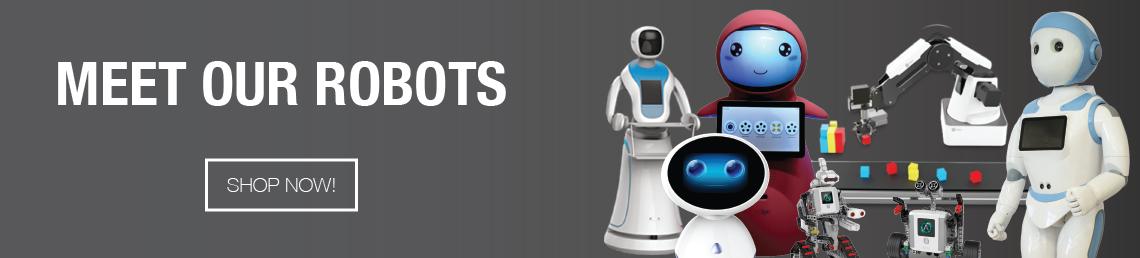 Shop Banner Meet Our Robots Vtrac Robotics