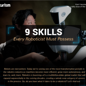WHAT DOES IT TAKE TO BE A ROBOTICIST?